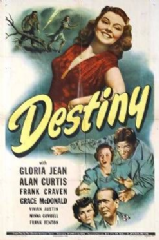 Destiny 1944 DVD - Gloria Jean / Alan Curtis